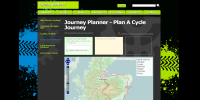 Cycling Scotland cycle journey planner